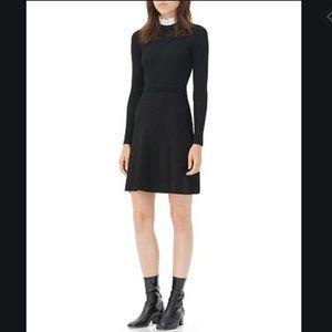 Sandro Stand Collar Dress
